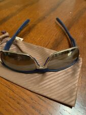 Oakley TwoFace Polarized Sunglasses - Blue/Silver