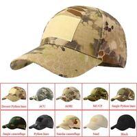 Outdoor Tactical Baseball Cap Military Hunting Hiking Camo Sun Mesh Hat Cap