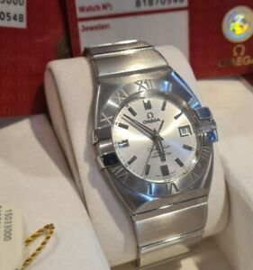 Omega constellation double eagle Co Axial Box & Papers