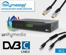 DVB-C Kabeltuner Receiver Unitymedia Skymaster Opticum XC2-03 HD Kabelreceiver 1