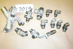 Toro Greens Master 3100 3150 Hydraulic Control Valve Line and HOSE FITTINGS