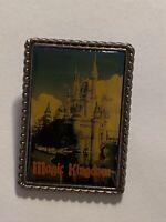 Magic Kingdom Postcard Disney Castle Disney Pin LE (B9)