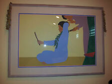 """PEGGE HOPPER SERIGRAPH, 1980 Peggy Hopper FRAMED 62""""x46""""x 2 1/2"""", ART IS 33""""x49"""""""