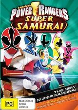 Power Rangers Super Samurai: Volume 1 - The New Super Samarai NEW R4 DVD