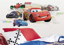 Cars 2 Lightning McQueen & Group Giant Wall Decals with Augmented Reality Sealed