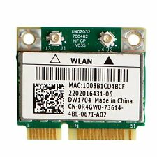Wi-Fi WLAN WIRELESS card network FOR DELL MINI PCI-E DW1704 0R4GW0 Tested Good