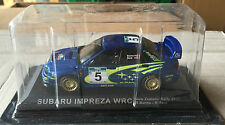 "DIE CAST "" SUBARU IMPRESA WRC NEW ZEALAND RALLY - 2001 "" RALLY DEA SCALA 1/43"