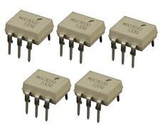 5x MOC3020 Optokoppler Triac-Ausgang DIP-6
