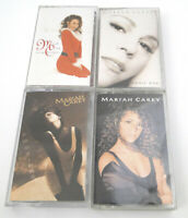 Mariah Carey Cassette Tape Lot Emotions Self Titled Music Box PLUS CHRISTMAS