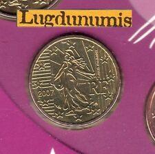 France - 2007 - 10 Centimes D'euro FDC Scéllée provenant coffret BU 120 000 ex