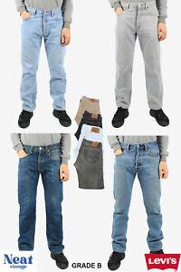 Vintage Levi 501 Levis Jeans Denim Men Grade B Size W28 W29 W30 W32 W34 W36