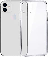 iPhone 11 Transparant hoesje | Siliconen Case | Voor 23:00 besteld