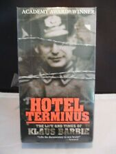 New Hotel Terminus:  The Life and Times of Klaus Barbie Rare VHS Tape 2 Tape MGM