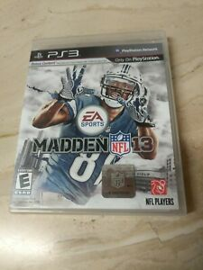 Madden NFL 13 PlayStation 3 PS3
