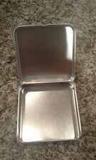 Basic Necessities silver storage embellish tins 8 pc -  Clearsnap 3.5""