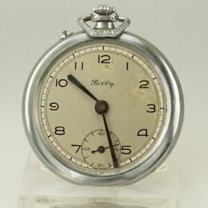 High-Grade Taschenuhr Herren Uhr pocket Uhren no spindel roskopf chronometer RAR