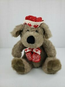 "15"" Vintage KRIS MUTT Plush Stuffed DAYTON HUDSON TARGET CHRISTMAS Puppy Lovie"