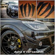 vauxhall Astra H VXR canards/vauxhall Astra vxr mk5/canards/bumper fins/ canards