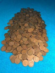 100x British 1/2d's coins Half Pennies bulk lot  Geo VI Eliz II Shove Ha' Penny