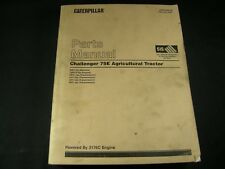 Caterpillar Challenger 75E Agriculture Tractor Parts Manual Book 6HS1-Up CAT