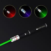 5mw 3PCS Laser pointer Pen Visible Beam Lazer Laser Pointer 3 Color Dot Light N