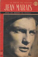 Magazine LE MIROIR DES VEDETTES JEAN MARAIS Ange ou démon TACCHELLA 1948