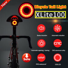 XLite100 Bicycle Smart Brake Light Sense LED USB Bike Rear Tail Light Waterproof