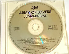 """ARMY OF LOVERS """"JUDGEMENT DAY"""" 3-TRACK-MAXI-CD 1992"""