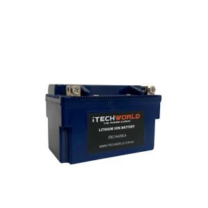 ITECH420CA LITHIUM MOTORBIKE BATTERY 12V STOP START 420AMP 6AH