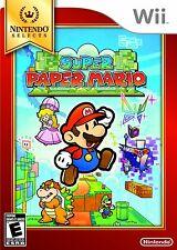 NEW Super Paper Mario (Nintendo Wii, 2007)