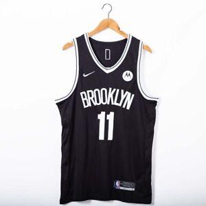 Hot sale Men's New Brooklyn Nets #11 lRVlNG Black regular Jersey size:S-XXL