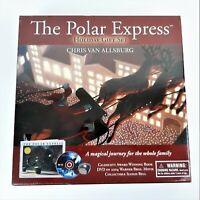 The Polar Express Christmas Holiday Gift Set Book DVD Movie Sleigh Bell