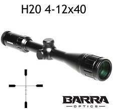 Barra Rifle Scope Hero 20 4-12x40 BDC Reticle Capped Turrets Hunting Precision