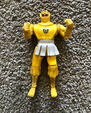 Yellow Ninja Ranger Kick Action Figure Bandai Mighty Morphin Power Rangers 1995