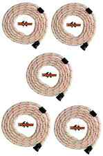 SPARE PARTS 5 X STIHL TS400 AND TS410 PULL CORD / STARTER ROPE 4.5mm ELASTO TYPE