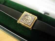 RARE OMEGA 18CT SOLID GOLD AND DIAMOND MECHANICAL 1960'S VINTAGE LADIES WATCH
