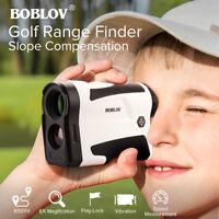 BOBLOV LF600AG 6X Golf Range Finder With Slope Function USB Charging Speed Meter
