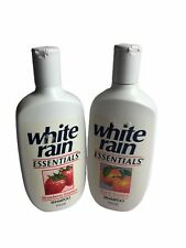 VTG 90's WHITE RAIN Essentials SHAMPOO ~ (2) Full Bottles NOS HTF Movie Props