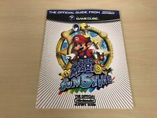 Super Mario Sunshine Strategy Guide Official Nintendo GameCube Power