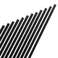 Black Aluminum Rectangle Baluster (Pack of 14)- 32-in x 1-in