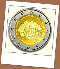 2 Euro Gedenkmünze Portugal 2018 - 250 Jahre Botanischer Garten Ajuda Lissabon -