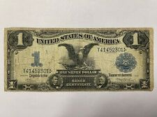 Series 1899 $1 One Dollar Large Black Eagle Silver Certificate