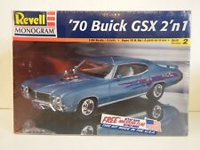 Revell Monogram - '70 Buick Gsx - 2 'N 1 - 1:24 Scale - Skill Level 2