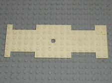 Chassis LEGO VINTAGE white Car Base 6 x 17 ref 710 / Set 338 373 Ambulance