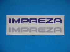 Subaru Impreza Adhesivo Calcomanía x2
