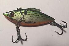 Rat-L-Trap - Bill Lewis 1/4 Oz Green Back Shiner Color Fishing Lure