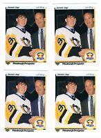 1990 1991 Upper Deck #356 Jaromir Jagr Pittsburgh Penguins Rookie Hockey Cards