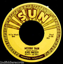 ELVIS PRESLEY-Mystery Train & I Forgot To Remember-Reissue 45-SUN #223
