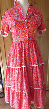 Vintage Western 1950's / 1960's  rockabilly / country summer dress (S-M/36-38)