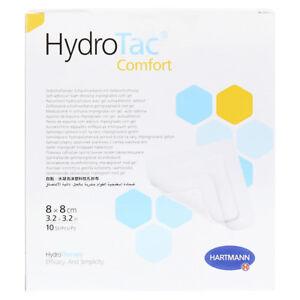 HydroTac Comfort Self-Adhesive Foam Dressing 8 x 8cm (10 st/pcs / pz)